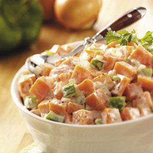 Potluck Sweet Potato Salad