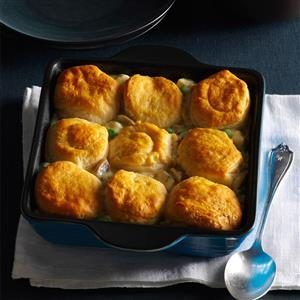Biscuit Turkey Bake