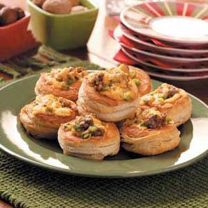 Cajun canapes recipe taste of home for Hot canape ideas
