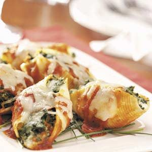 Four-Cheese Stuffed Shells Recipe