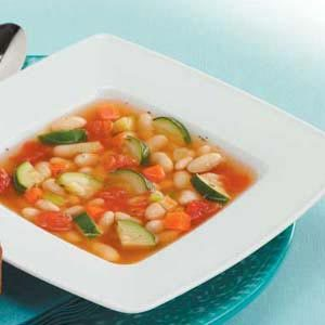 Vegetarian White Bean Soup Recipe