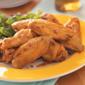 Szechuan Chicken Wings Recipe