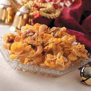 Mixed Nut-Cornflake Brittle Recipe