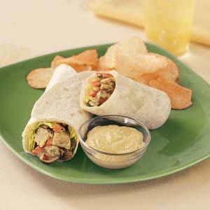Curry Chicken Salad Wraps Recipe