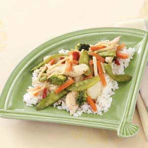 Honey-Ginger Chicken Stir-Fry Recipe