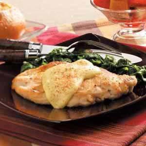 Dijon Chicken and Spinach Recipe
