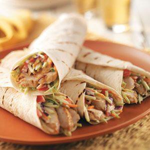 Jamaican Jerk Turkey Wraps Recipe