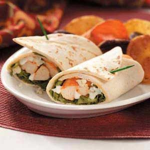 Spicy Buffalo Chicken Wraps Recipe