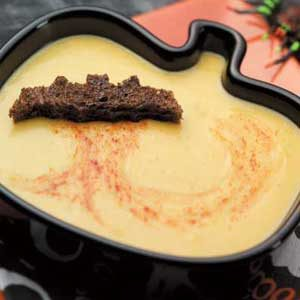 Halloween Acorn Squash Soup Recipe