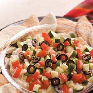 Greek Garden Appetizer Recipe