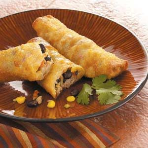 Southwestern Egg Rolls Recipe photo by Taste of Home