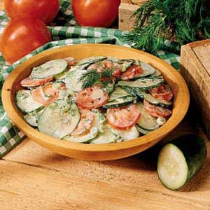 German Cucumber Salad