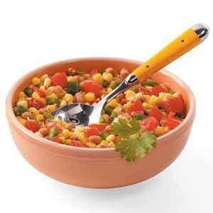 Basic Black-Eyed Pea Salsa Recipe
