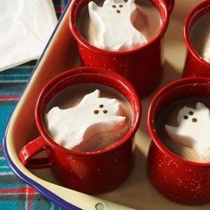 Ghostly Hot Cocoa Recipe