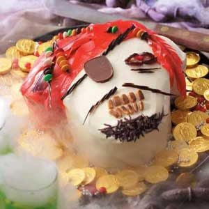 Ghostly Pirate Cake Recipe