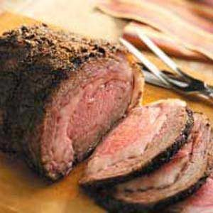 Coffee-Crusted Prime Rib Recipe
