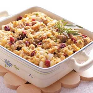 Cranberry Cornmeal Dressing Recipe