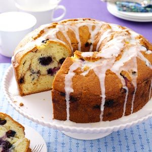 Blueberry Sour Cream Coffee Cake Recipe
