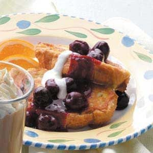 Sweet Cherry French Toast Recipe