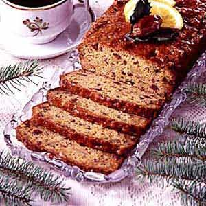 Orange Date Nut Bread Recipe