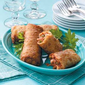 Pizza Egg Rolls Recipe