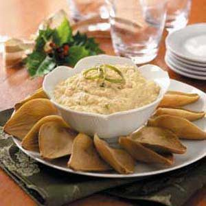 Creamy Crab with Artichoke Dippers Recipe