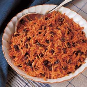 Quick Carrot Raisin Salad