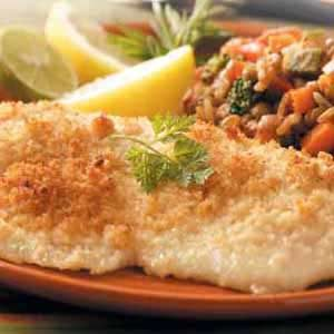 Dijon-Crusted Fish Recipe