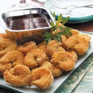 Breaded Curry Shrimp Recipe