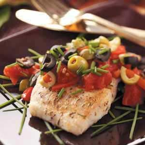 Mediterranean-Style Red Snapper Recipe