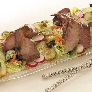 Japanese Steak Salad Recipe