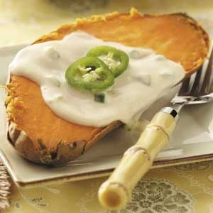 Baked Sweet Potato Deluxe Recipe