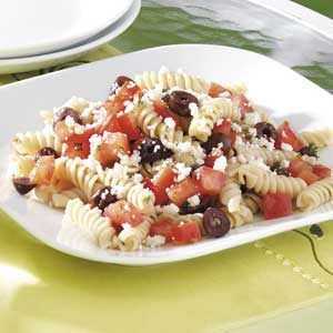 Quick Greek Pasta Salad Recipe