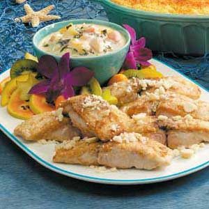 Tropical Mahi Mahi Recipe