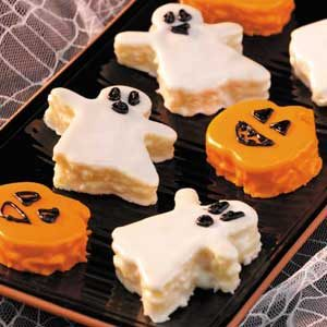 Halloween Mini-Cakes Recipe