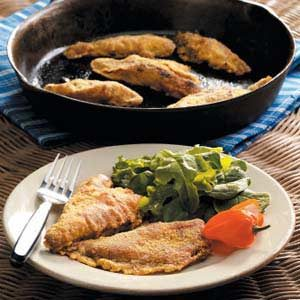 Southwestern Fried Perch Recipe