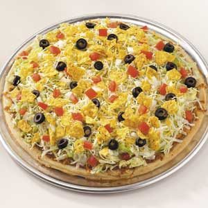 Mexican Taco Pizza Recipe