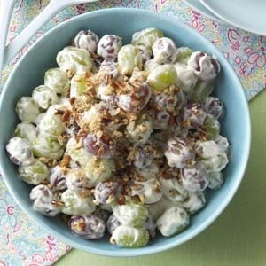 Creamy Grape Salad Recipe