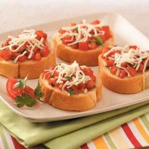 Easy simple bruschetta recipe