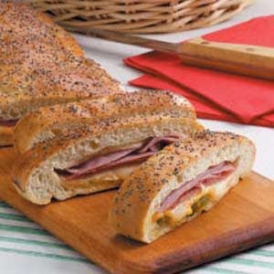 Meat & Cheese Stromboli Recipe