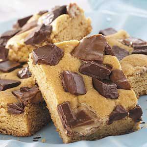 Blond Butterscotch Brownies Recipe