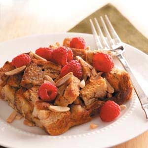 Raspberry-Cinnamon French Toast Recipe