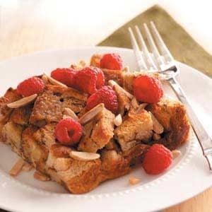 Raspberry-Cinnamon French Toast Recipe