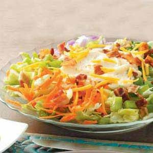 Mini Layered Salad Recipe