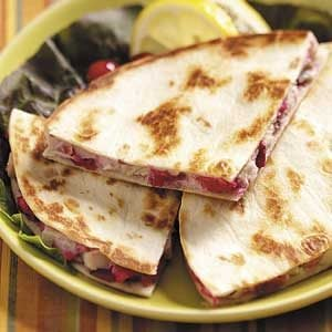 Spicy Turkey Quesadillas Recipe
