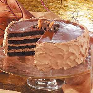 Chocolate Pecan Torte Recipe