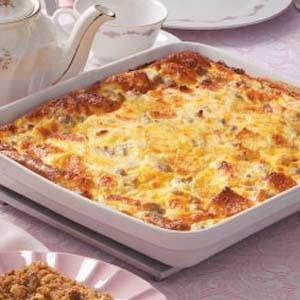 Good food recipes » Easy sausage egg casserole recipes