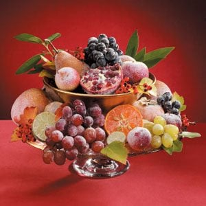 Sugared Fruit Centerpiece Recipe