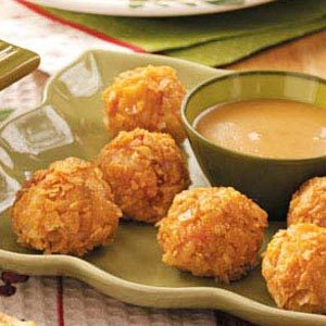 Crunchy Potato Mounds Recipe