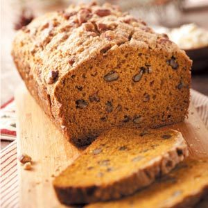 Rustic Pumpkin Bread Recipe